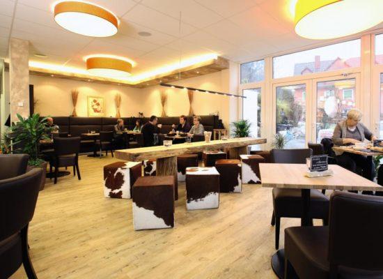 Gastraum in Kreuzer's Bäckeria
